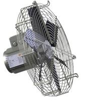 Axial transformer fan